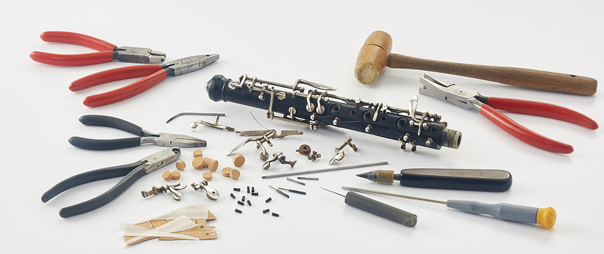 Entretien et réparation d'instruments Lyon