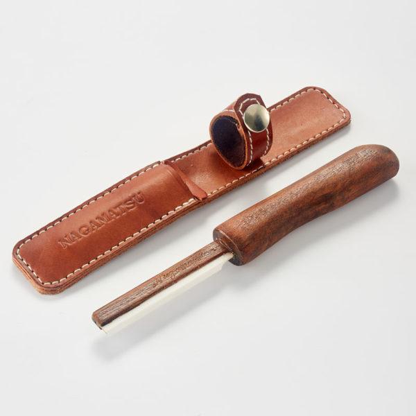 Couteau Nagamatsu céramique biseauté