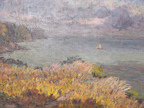 """Painting """"Le roseau chantant"""""""