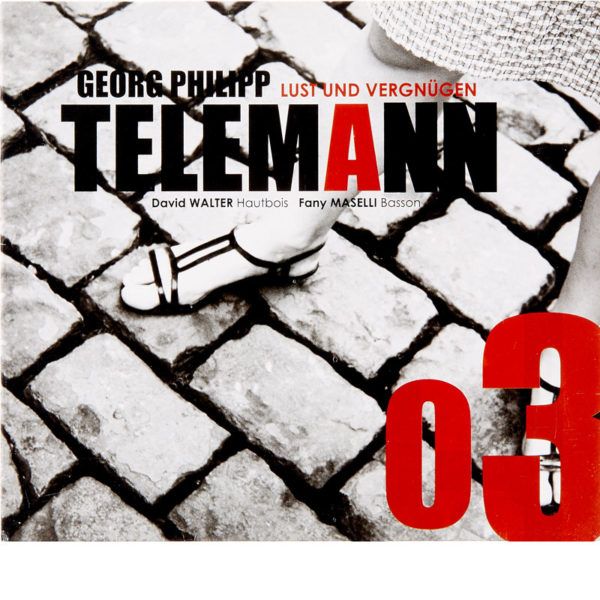CD David Walter - Telemann