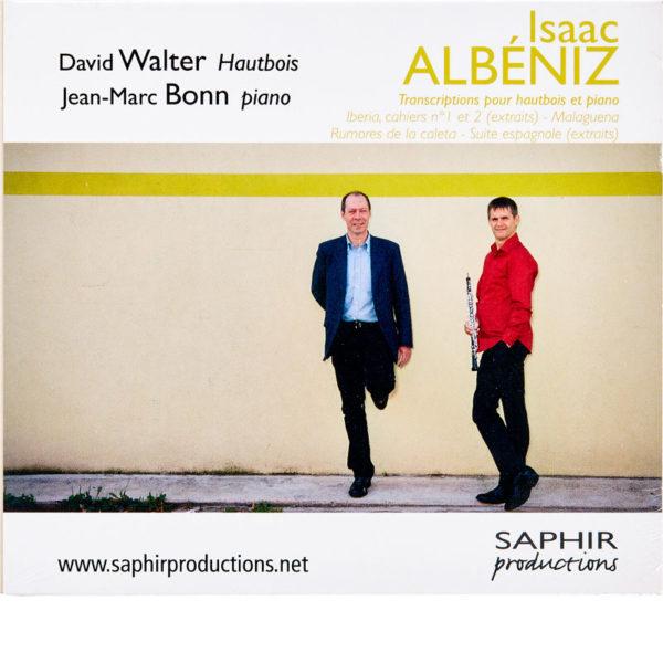 CD David Walter - Albeniz