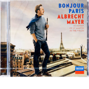 CD Albrecht Mayer - Bonjour Paris