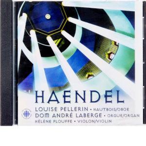 CD Louise Pellerin - Haendel