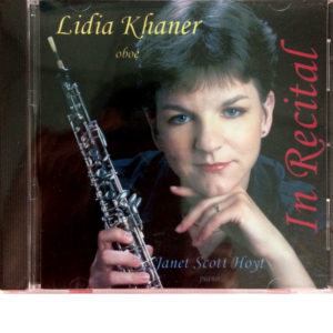 CD Lidia Khaner - In Recital