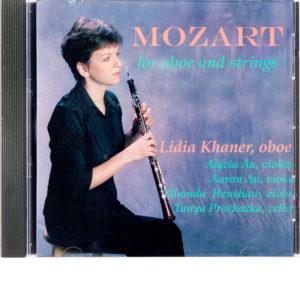 CD Lidia Khaner - Mozart