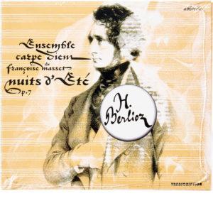 CD Carpe Diem - Nuits d'Eté d'Hector Berlioz