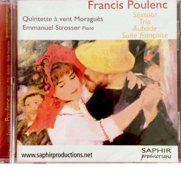 CD Quintette Moraguès - Poulenc