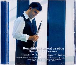 CD Matej Sarc - Romantic oboe concertos