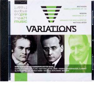 CD Matthias Arter –  Variations