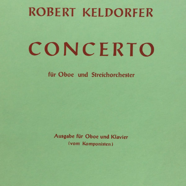 Partition occasion - R. Keldorfer / Concerto